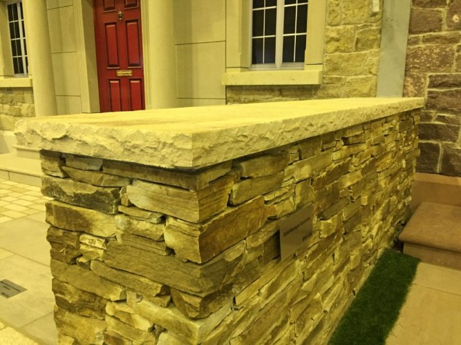 Tinted Mint Wall Capping