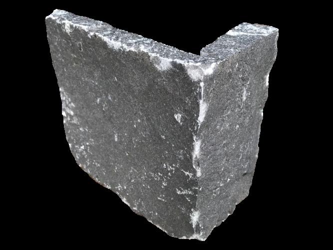 White Limestone Stoneer - Corner Piece