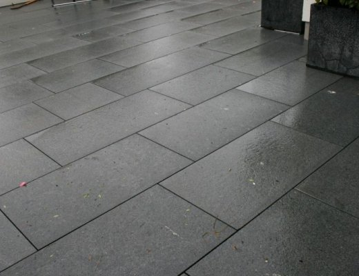 Black Granite Paving - Single Sizes
