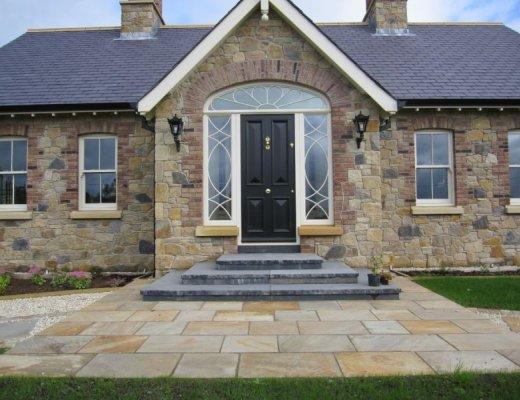 Black Limestone Step - Bespoke