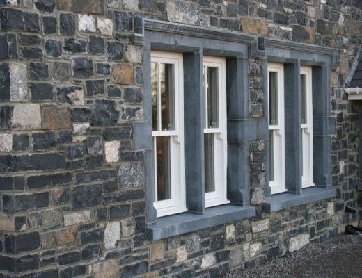 Blue Limestone Window Surround
