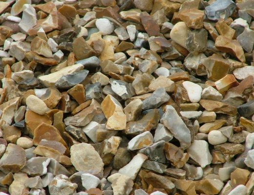 Brown Shingle Stone Chipping