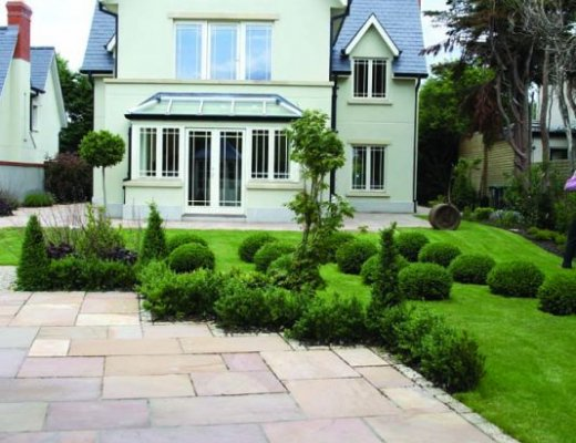 Camel Dust Paving - Patio Pack