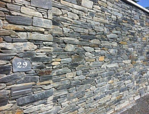 Blue Grey Slate - Garden Walling