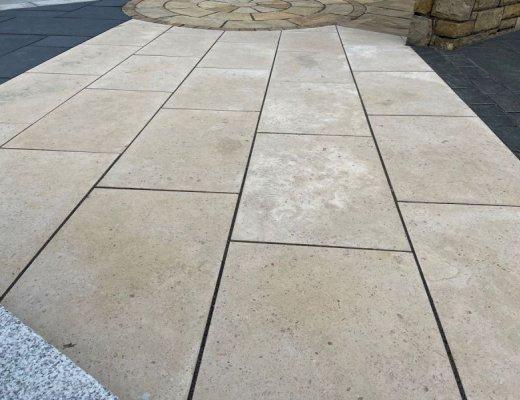 Gascogne Beige Limestone Paving  - Single Sizes