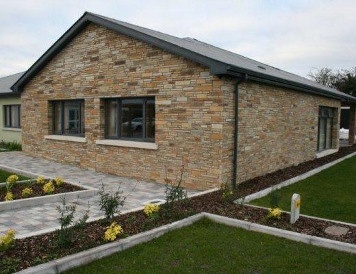 Gold Donegal Quartzite Garden Walling - Machined