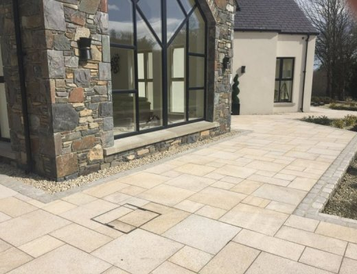 Gold Granite Paving - Patio Pack