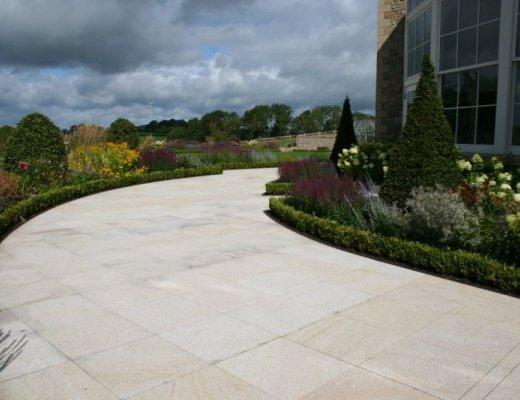 Gold Granite Paving - Single Sizes