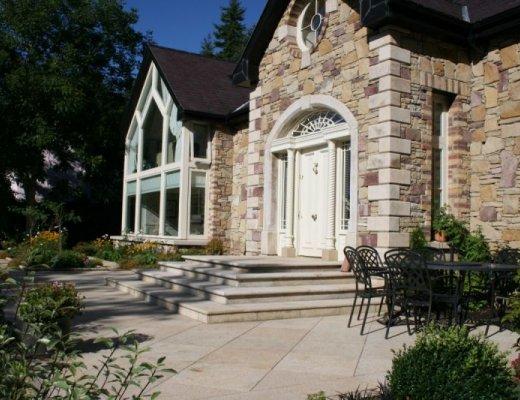 Gold Granite Steps - Bespoke