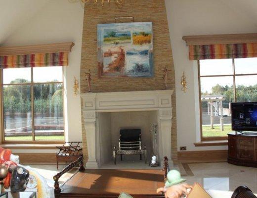 Bespoke Sandstone Fireplaces