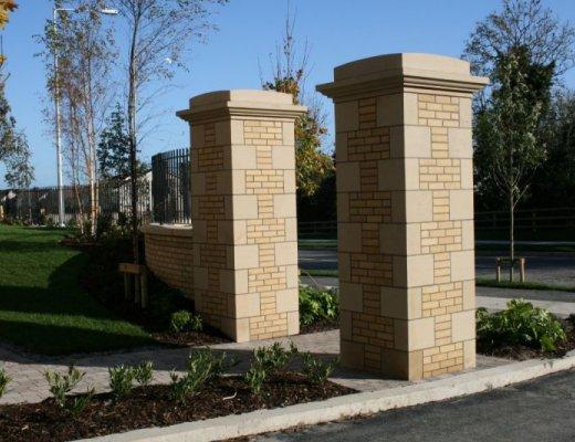 Sandstone Pillar Cap