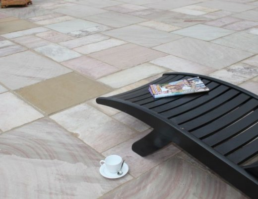 Revina Sandstone Paving - Patio Pack