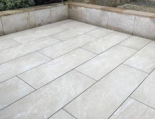 Sandstone Beige Porcelain Tiles