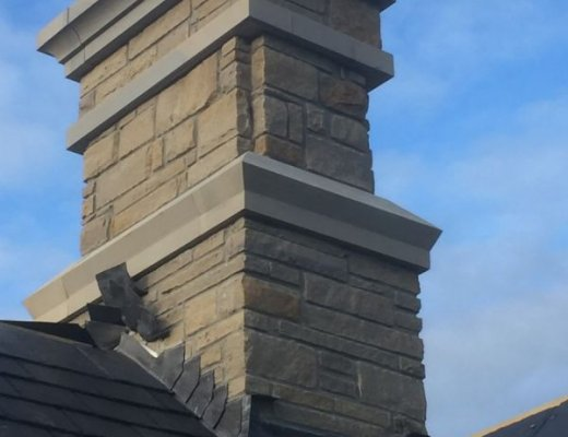 Sandstone Chimney Cap
