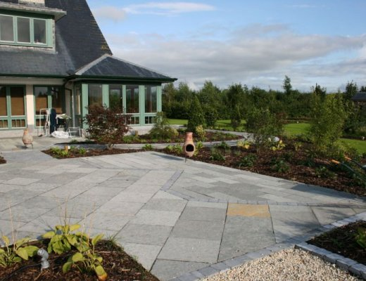 T - Grey Limestone - Patio Pack