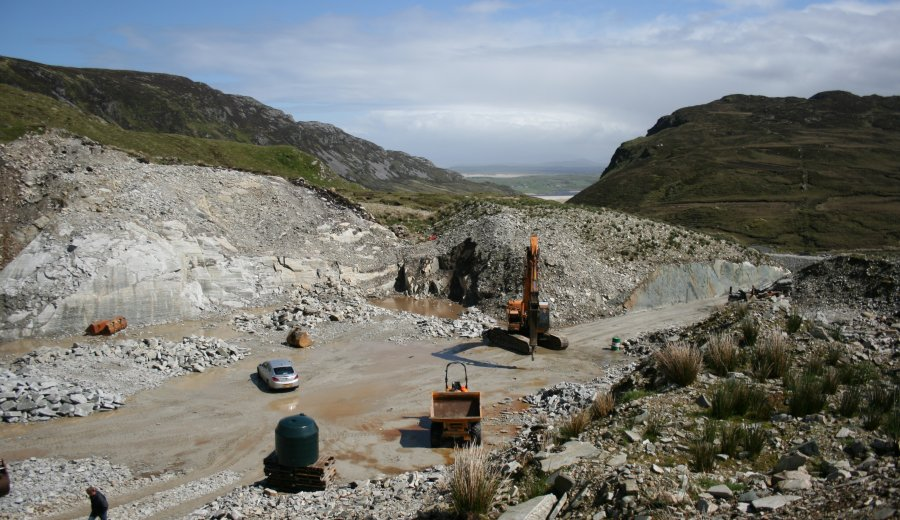 Acquisition of Silver Quartzite Quarry