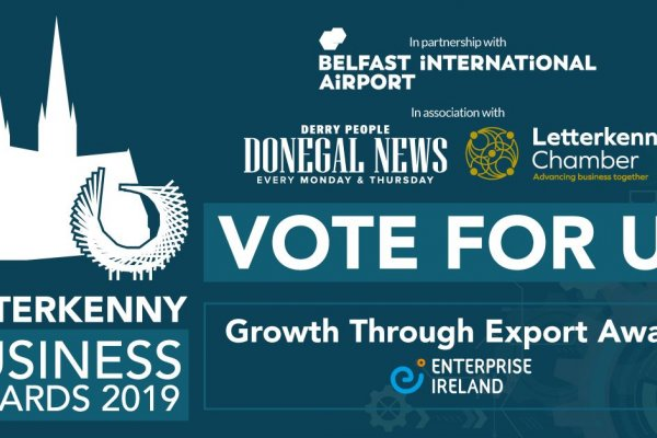 FINALIST in 'Growth through Export Award' Category