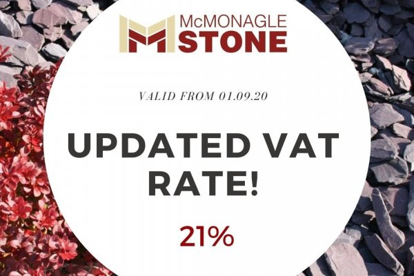 Updated VAT Rate!